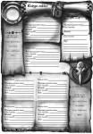 Karta czarów dla kapłana