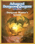 AD&D Dungeon Master Screen, 2nd Ed.