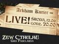 Arkham Courier na żywo!