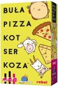 Buła. Pizza. Kot. Ser. Koza