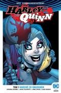 DC Odrodzenie. Harley Quinn (wyd. zbiorcze) #1: Umrzeć ze śmiechem