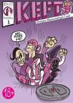 [DNC] komiks #1: KEFT: Drużyna Niesamowitych Cweli