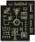 GameMastery Flip-Mat: Dungeon
