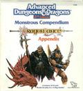 Monstrous Compendium Dragonlance Appendix