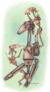 Narysuj sobie droida bojowego z TCW