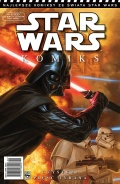 Oryginalne rysunki z komiksów Star Wars