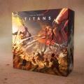 Pierwsze ilustracje gry planszowej Tytani