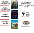 Polscy artyści na Stockholm International Comics Festival 2019