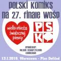 Polski Komiks na 27. Finale WOŚP