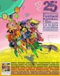 Program 25. Międzynarodowego Festiwalu Komiksu i Gier w Łodzi