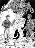 Przykładowe ilustracje z Weird War II