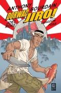 Przykładowe plansze komiksu Dorwać Jiro!