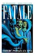 Przykładowe plansze komiksu Fatale #1: Śmierć podąża za mną