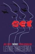 Przykładowe plansze komiksu Sex #1: Letnie uniesienia