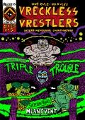 Przykładowe plansze komiksu Vreckless Vrestlers #4-5