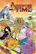 Przykłądowe plansze pierwszego tomu Adventure Time