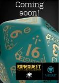 Q-Workshop stworzy oficjalne kości do RuneQuesta