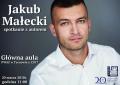 Spotkanie z Jakubem Małeckim w Tarnowie