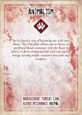 Wampirze moce ukryte w kartach