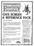 Warhammer FRP GM's Screen & Reference Pack