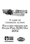 Wolsung: Exclusive Preview for Polish Free RPG Day 2012